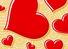 Free Red Hearts Royalty Free Stock Images - 4000679