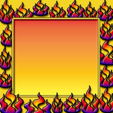 Free Fire Frame Stock Photo - 4000790