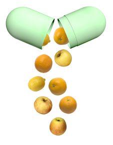 Free Vitamins Royalty Free Stock Image - 4000796