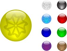Free Color Balls Stock Photography - 4000822