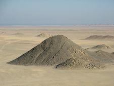 Arabian Sand, Egypt, Africa Stock Photography
