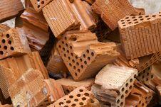 Free Red Bricks Royalty Free Stock Photo - 4001465