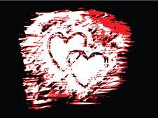 Free Vector Valentine Hearts Royalty Free Stock Photo - 4001545