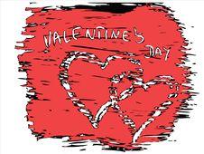 Free Vector Valentine Hearts Stock Image - 4001551
