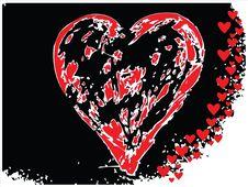 Free Vector Valentine Hearts Stock Image - 4001561
