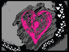 Free Vector Valentine Hearts Stock Photos - 4001563