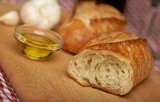 Free Sourdough Bread On Cutting Board Stock Photo - 4001940