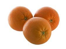 Free Three Oranges Stock Image - 4001981