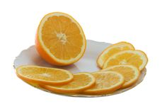 Free Orange Slices Royalty Free Stock Image - 4002036
