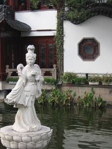 Free Asian Statuary Stock Image - 4002221
