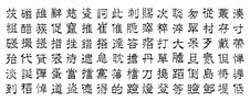 Free Chinese Characters V6 Stock Image - 4002251