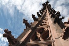 Free Spire Of Cathedral. Stock Photo - 4002280