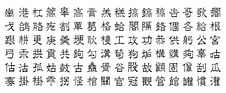 Free Chinese Characters V10 Stock Image - 4002291