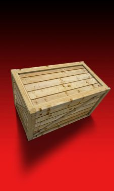 Free Wooden Container Royalty Free Stock Photo - 4002315