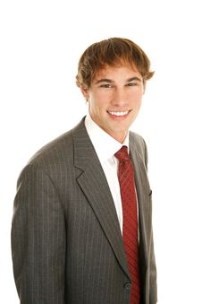 Free Handsome Young Businessman Stock Images - 4002334