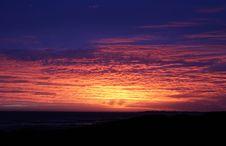 Free Beautiful Sunset By The Sea Stock Photo - 4002430