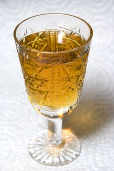 Free Crystal Liqueur-glass Royalty Free Stock Photos - 4002448