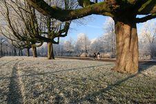 Free Winter Jogging Stock Photo - 4002470