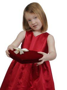 Free Valentine Girl Stock Image - 4002561