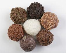 Free Circle Of Truffles Stock Image - 4002571
