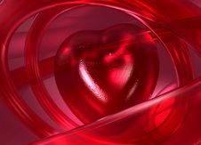 Free Heart´s Abstraction Royalty Free Stock Photos - 4002748