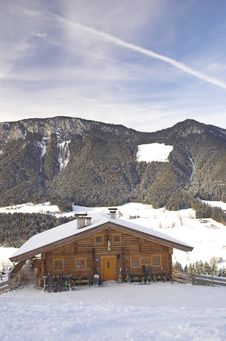 Free Skiing Area In Soell (Austria) Royalty Free Stock Photos - 4003168