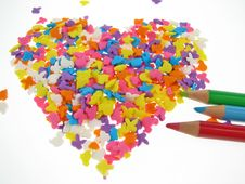 Free Candy Heart Stock Photo - 4003240