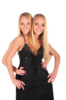 Free Twin Girls Royalty Free Stock Photography - 4003937