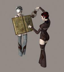 Free Fantasy Girls Royalty Free Stock Photos - 4004218