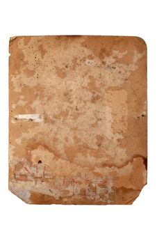 Free Old Yellowed Sheet Of Paper Stock Photos - 4004553