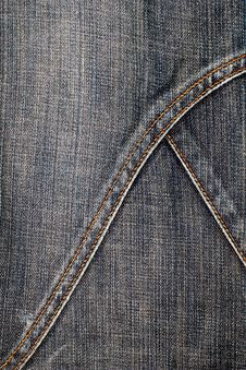 Free Jeans Texture Vertical Royalty Free Stock Images - 4004629