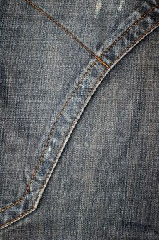 Free Jeans Texture Vertical Stock Photo - 4004640