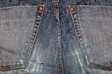 Free Jeans Pocket Close Up Stock Photos - 4004753
