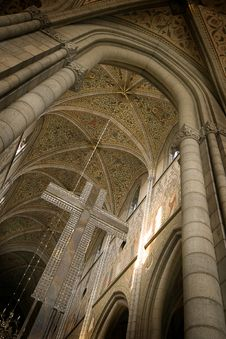Free Cathedral Interior Stock Photography - 4004842