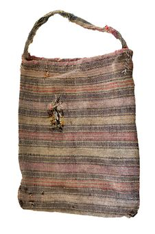Free Old Textile Vintage Bag Royalty Free Stock Photography - 4005037