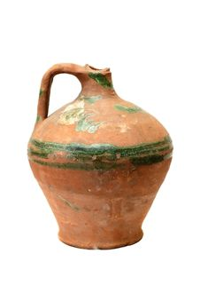Free Old Traditional Pot Royalty Free Stock Images - 4005289