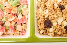Free Muesli And Candied Fruits Stock Photos - 4006423