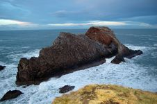 The Side Of Bow Fiddle Rock, Royalty Free Stock Photo