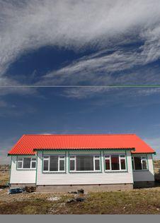 Free New Housing Falkland Islands Royalty Free Stock Photography - 4007167