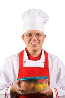 Free Happy Chef Stock Photos - 4007493