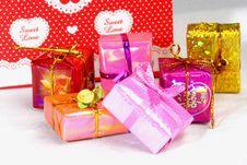 Free Gift Present Box Stock Image - 4007551