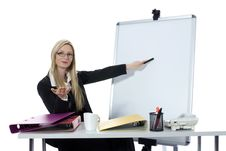 Free Business Woman Working Stock Photography - 4007732