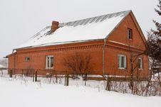 Free The Rural Brick House. Stock Photos - 4009653