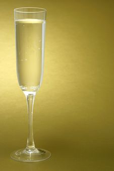 Free Flute Of Champagne Stock Photos - 4009803