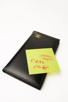 Free The Telephone Book And Note Royalty Free Stock Photos - 4009818