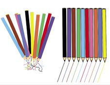 Free Color Pencils Royalty Free Stock Photos - 4009908