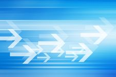 Free Abstract Futuristic Background With Arrows Stock Photo - 40000650