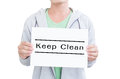 Free Keep Clean Stock Photography - 40024562