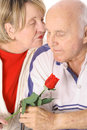 Free Senior Couple In Love Stock Images - 4012234
