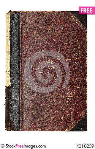 Free Old Brown Book Cover Royalty Free Stock Images - 4010239